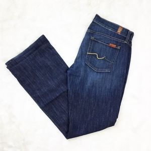 7 For All Mankind Bootcut Jeans Dark Wash sz. 29